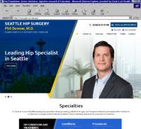 Phil Downer, M.D.<br>Seattle Hip Surgery