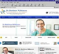 Dr Matthew Wilkinson