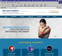 Mr Ravi Pandit FRCS(Eng), FRCS (Orth)