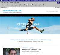 Matthew Driscoll, MD.