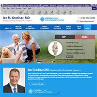 Ian M Gradisar MD