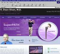 K Dean Olsen MD