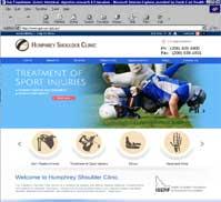 Humphrey Shoulder Clinic<br>C. Scott Humphrey MD