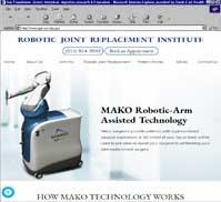 ROBOTIC JOINT REPLACEMENT INSTITUTE<br>Suresh Nayak, M.D.