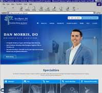 Jasper Bone & Joint Orthopedics<br>Dan Morris, DO