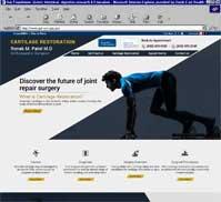 Cartilage Restoration<br>Ronak M. Patel M.D