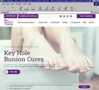 Mr David Gordon - The Bunion Doctor
