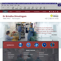 Dr Brindha Shivalingam