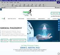 Northwest Orthopaedic Surgery<br>John C. Austin, M.D.