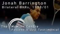 Squash with a Birmingham Hip Resurfacing (BHR) - Squash World Champion and Coach Jonah Barrington