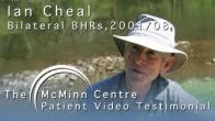 Hip Resurfacing Hiker Ian Cheal's 1200 Mile End-2-End Walk (BHR McMinn Centre) 2013