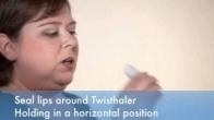 How to use a Twisthaler®  asthma inhaler.