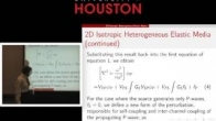 Arthur B Weglein's Tutorial - Modeling the phase and amplitude of P waves