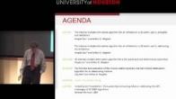 Meeting overview and plans going forward - Arthur B. Weglein