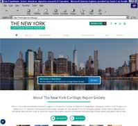 The New York Cartilage Repair Society