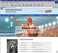 Shoulder Specialist - Lonnie D. Davis, MD
