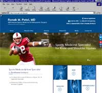 Ronak M. Patel M.D - NW Indiana Sports Medicine & Orthopaedic Surgery