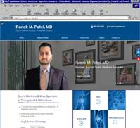 Ronak M.Patel MD