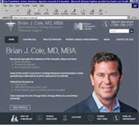 Brian J. Cole, MD, MBA