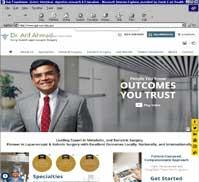 Dr. Arif Ahmad MD FACS FRCS