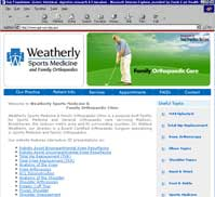 Weatherly Sports Medicine and Family Orthopaedic Clinic