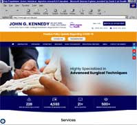 John G. Kennedy MD, Mch, MMSc, FFSEM, FRCS (Ortho)