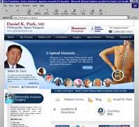 Daniel K Park MD