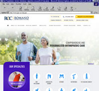 ROMANO<br>ORTHOPAEDIC CENTER