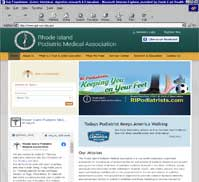 Rhode Island Podiatric Medical Association