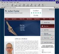 Jochen Fischer, FRCS