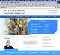 Dr Frikkie Rademan