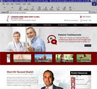Mr Naveed Shaikh<br>London Knee & Foot Clinic