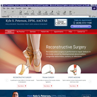 Kyle S. Peterson, DPM, AACFAS <br> Fellowship-Trained Foot & Ankle Surgeon