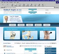 Bradley K Vaughn MD