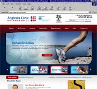 Anglesea Clinic Orthopaedics <br> Mr Peter Black