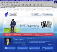 Dr. Minoo Patel<br>Centre for Limb Lengthening & Reconstruction