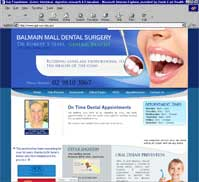 Balmain Mall Dental Surgery<br>Dr Robert S Sebel