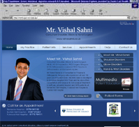 Mr Vishal Sahni <br> Consultant Shoulder, Elbow & Hand Surgeon