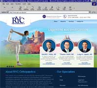 RYC Orthopaedics PC