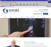 SHORE For Women<br>Dr Colin Walsh