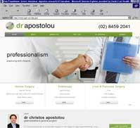 dr apostolou