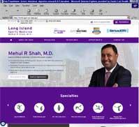 Long Island Sports Medicine<br>Mehul R Shah, M.D.