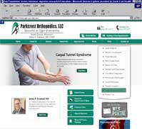 Parkcrest Orthopedics LLC<br>James P. Emanuel, MD
