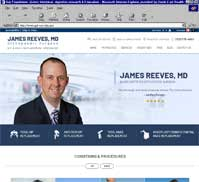 James Reeves, MD