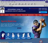 Orthopedic Clinic of Galveston County