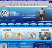 Bert J Thomas, MD <br>Thomas Orthopedics