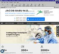Jacob Babu M.D, M.H.A, M.S.