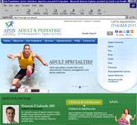 Adult and Pediatric Orthopaedic Specialists