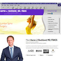 Aaron J Buckland MD <br> FRACS