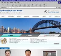Sydney Hip & Knee<br>Dr Michael Solomon | Dr David Broe